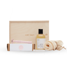 Well Kept Safety Razor Kit Rose