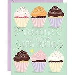 WASTE NOT PAPER Extra Frosting Grandma Mother's Day Card