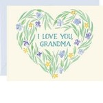 WASTE NOT PAPER I Love You Grandma Wreath Mother's Day Card