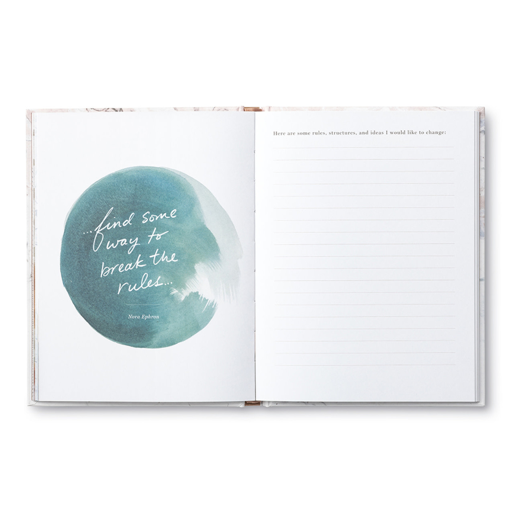 COMPENDIUM GUIDED JOURNAL - AN INSPIRED LIFE