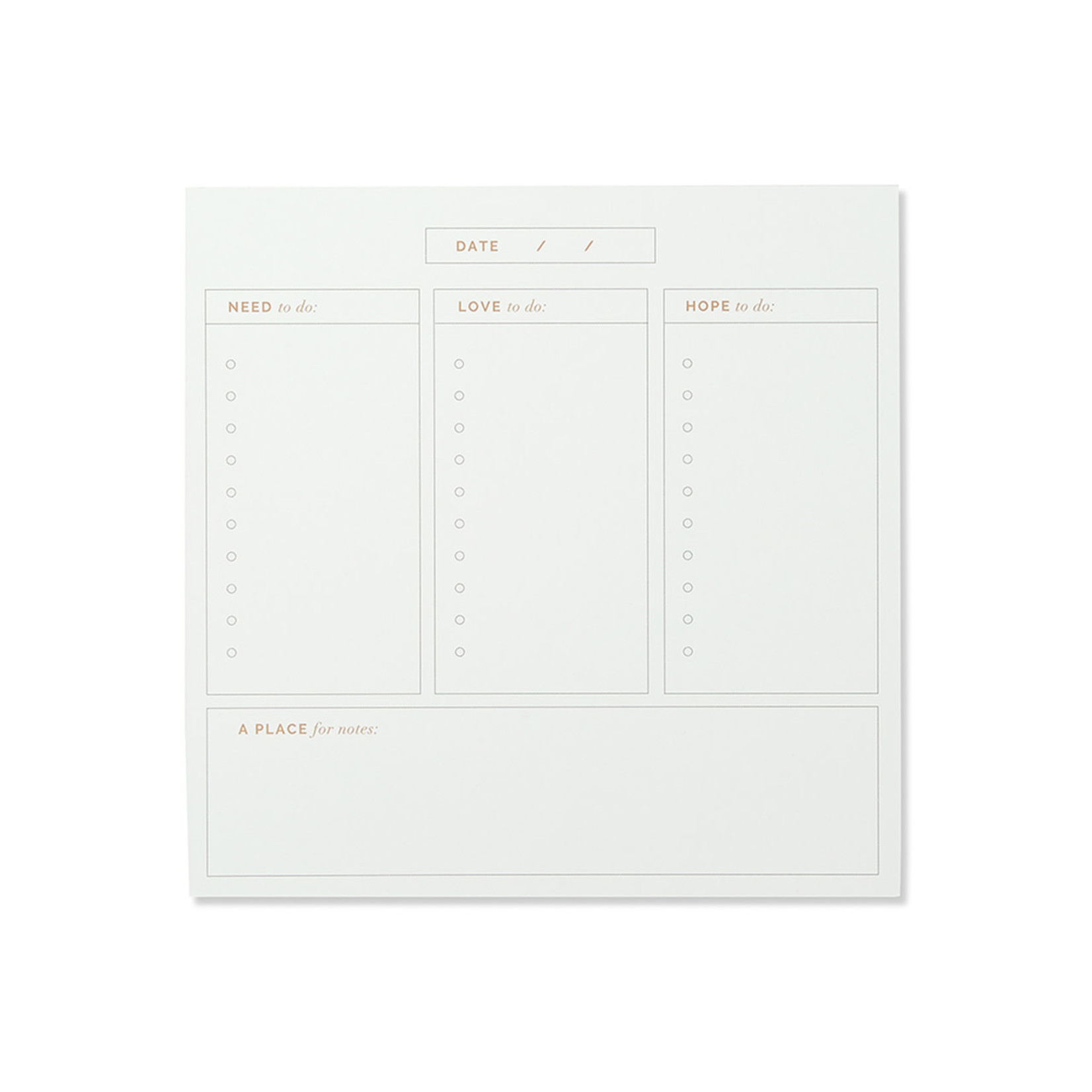 COMPENDIUM Every Day Is A Beautiful Day Daily Planner Pad