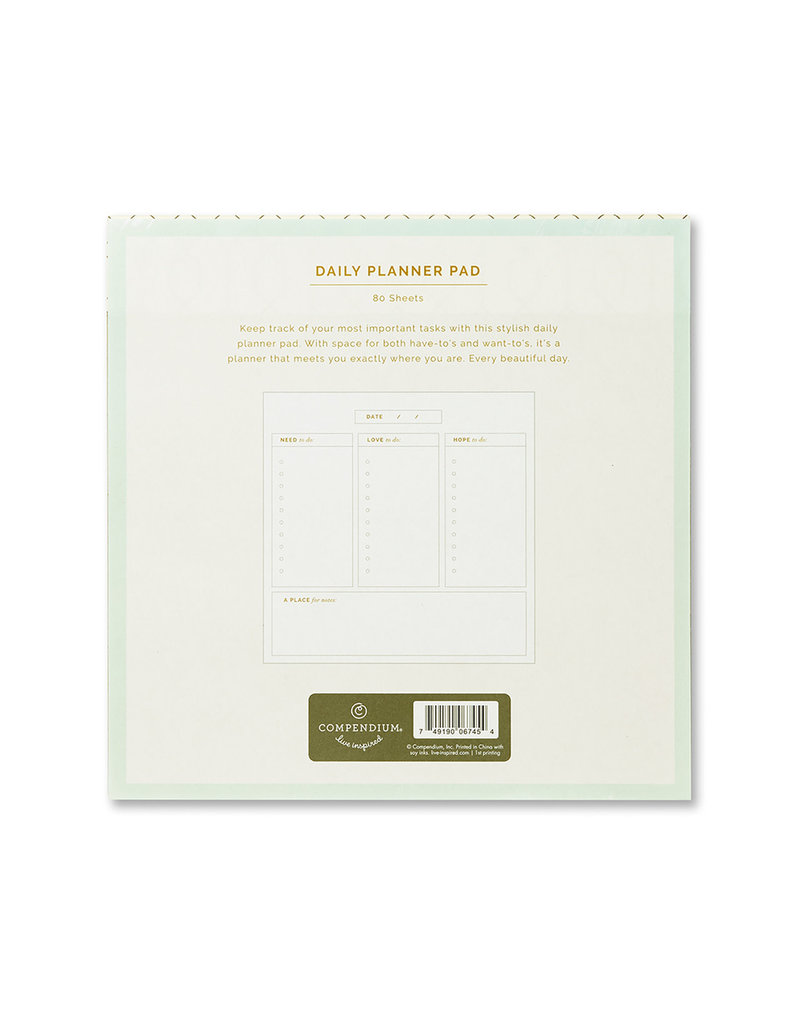 Every Day Is A Beautiful Day Daily Planner Pad