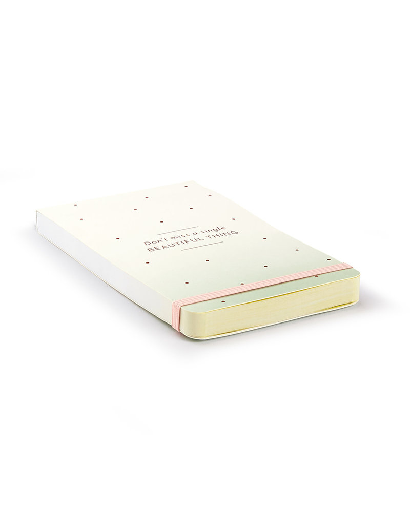 Don't Miss A Single Beautiful Thing Pocket List Pad