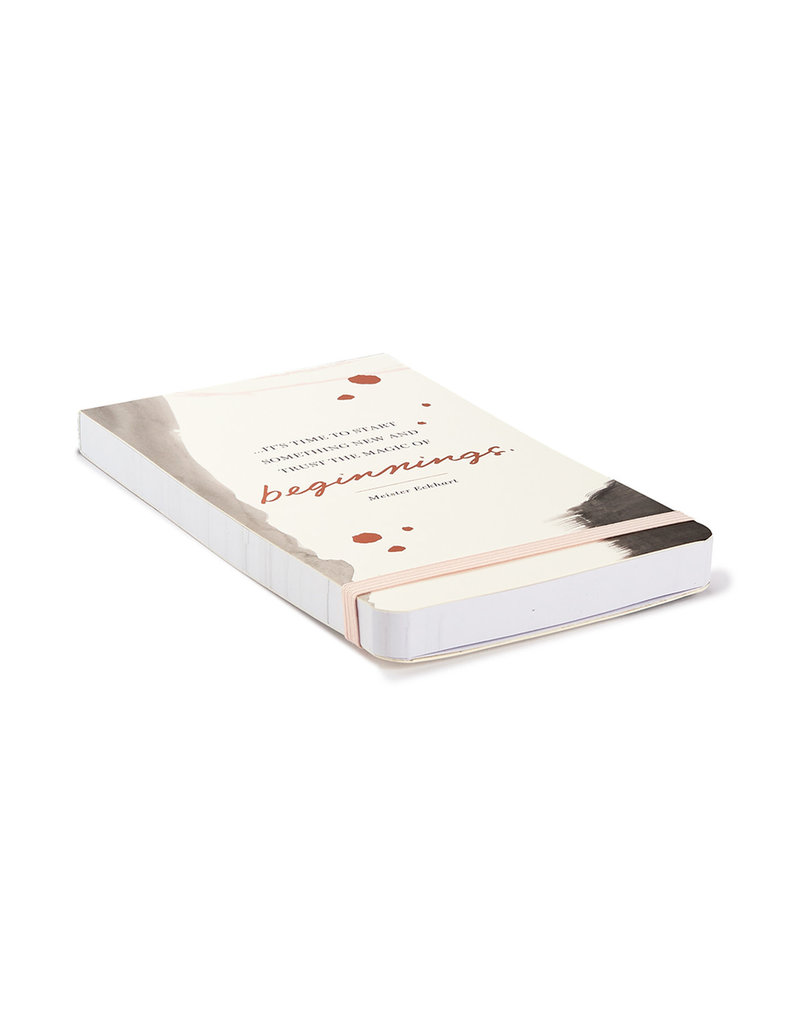 It's Time To Start Something New... Pocket List Pad