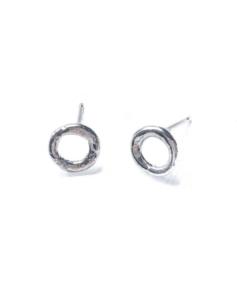 Hoops-A-Daisy Stud Earrings