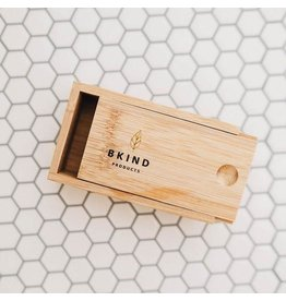 BKIND Bamboo Case for Shampoo + Conditioner Bars