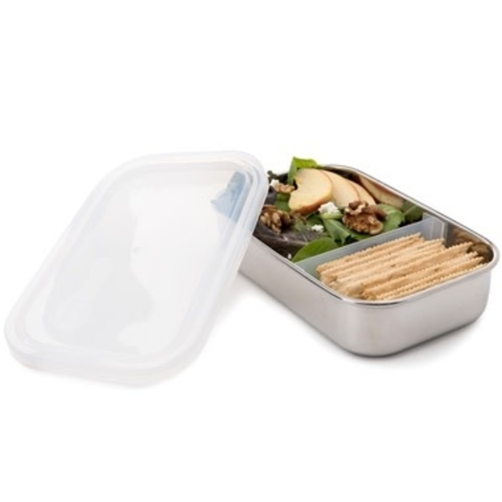 U-KONSERVE Divided Rectangle Container - Clear (25oz)