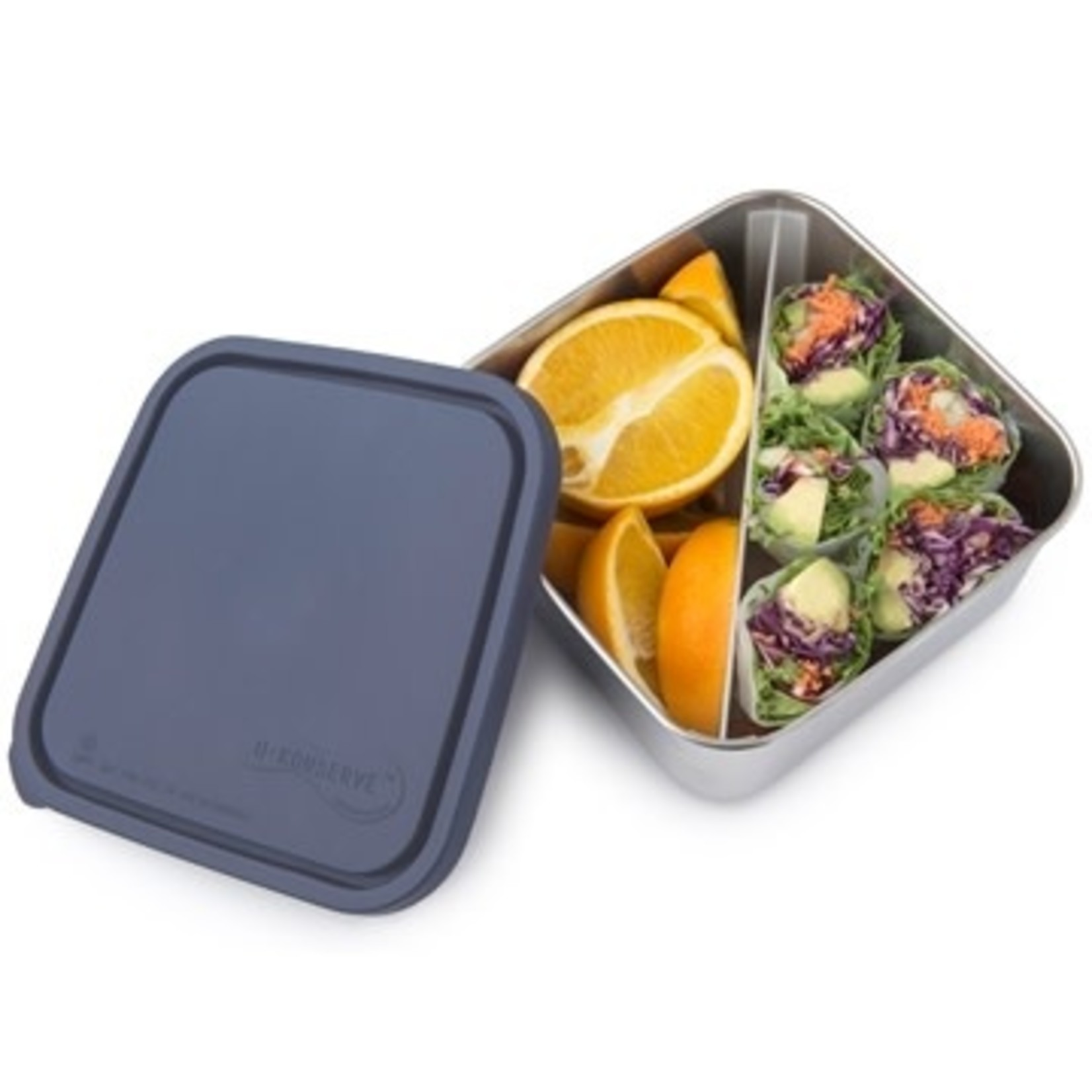 U-KONSERVE Divided To Go Large Container - Ocean (50oz)