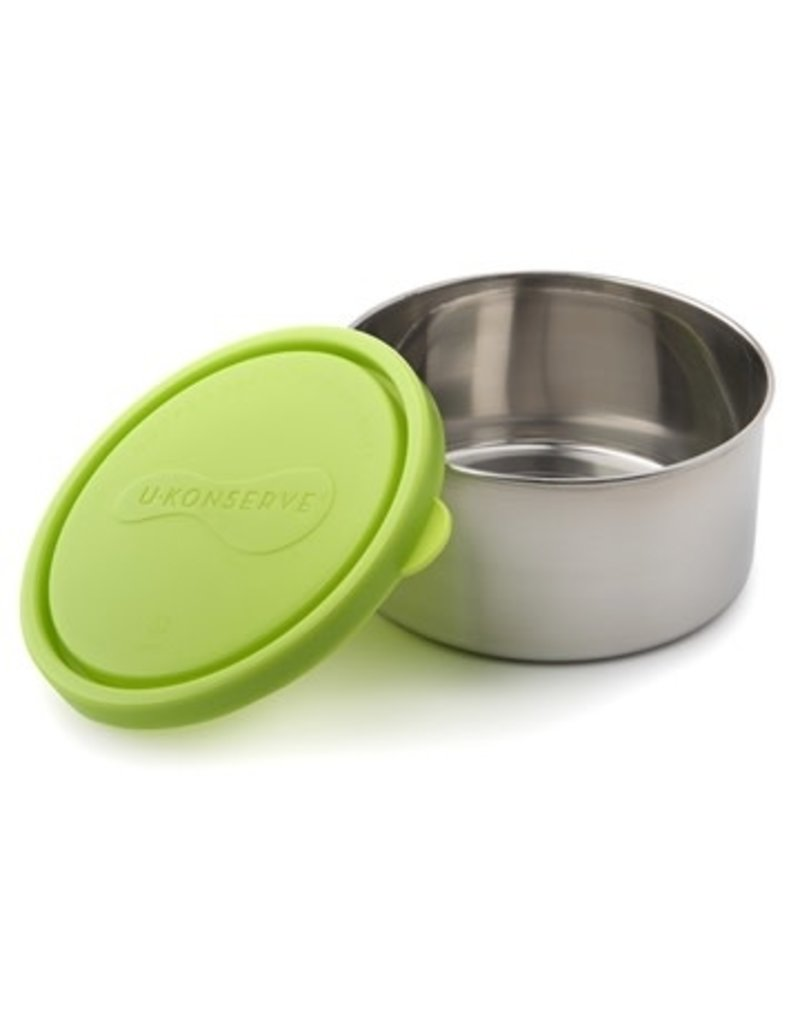 U-Konserve Round Container Large - Lime (16oz)