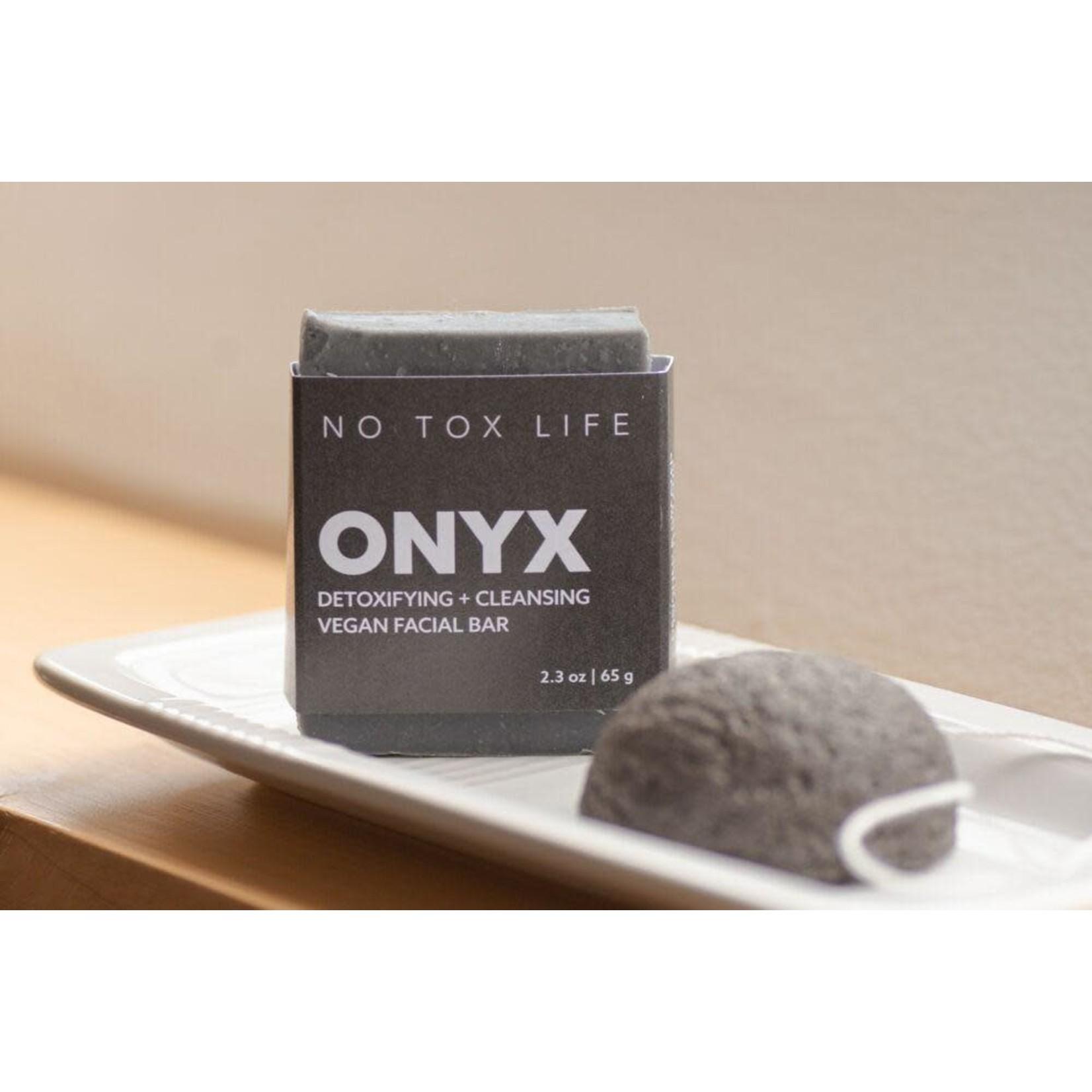 NO TOX LIFE Onyx Detoxifying Charcoal Cleansing Bar