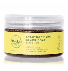 Rocky Mountain Soap Co. Everyday Hero Black Soap Paste