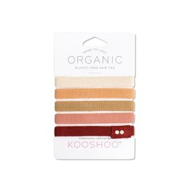 Kooshoo Organic Hair Ties Ginger