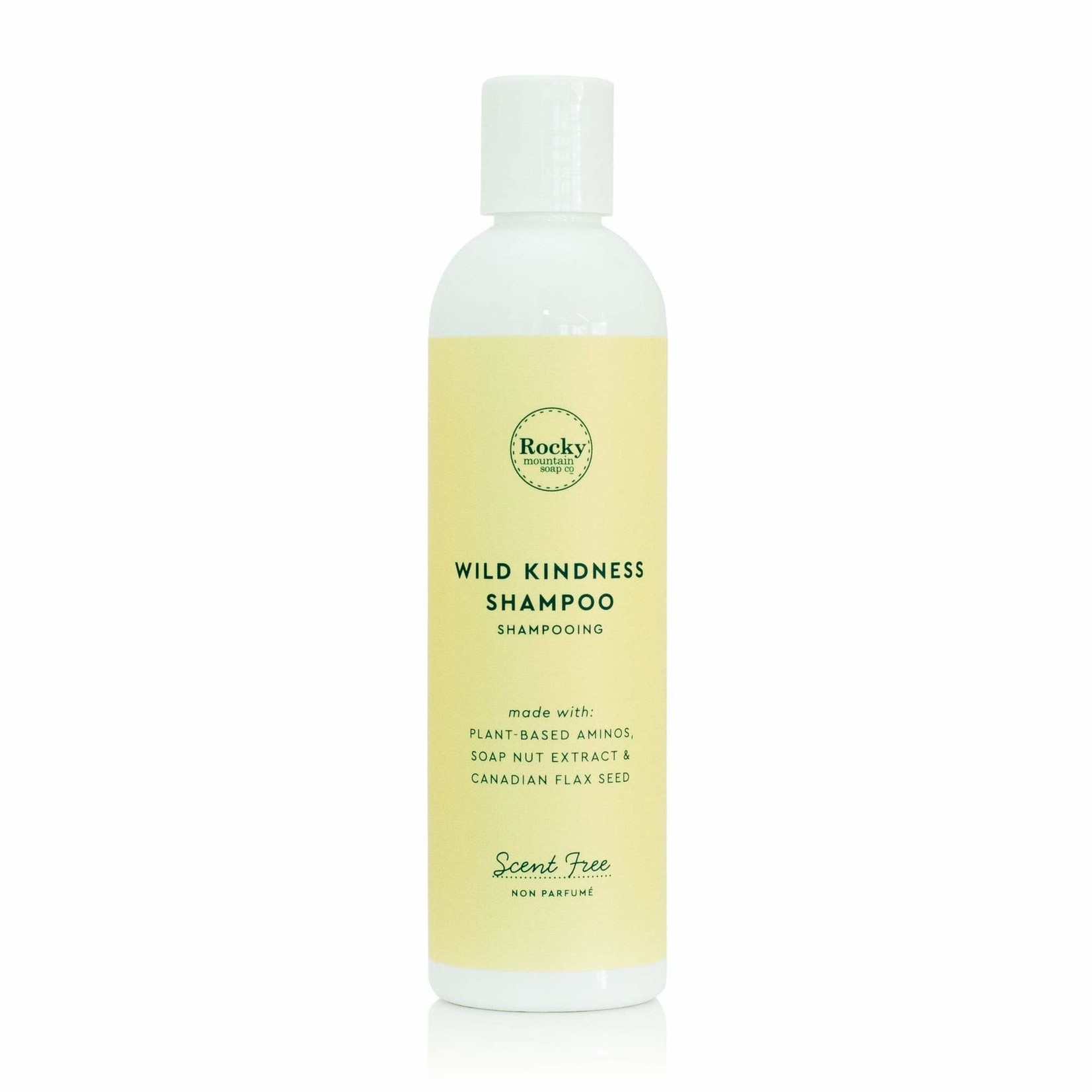 ROCKY MOUNTAIN SOAP CO. NATURAL WILD KINDNESS SHAMPOO - SCENT FREE