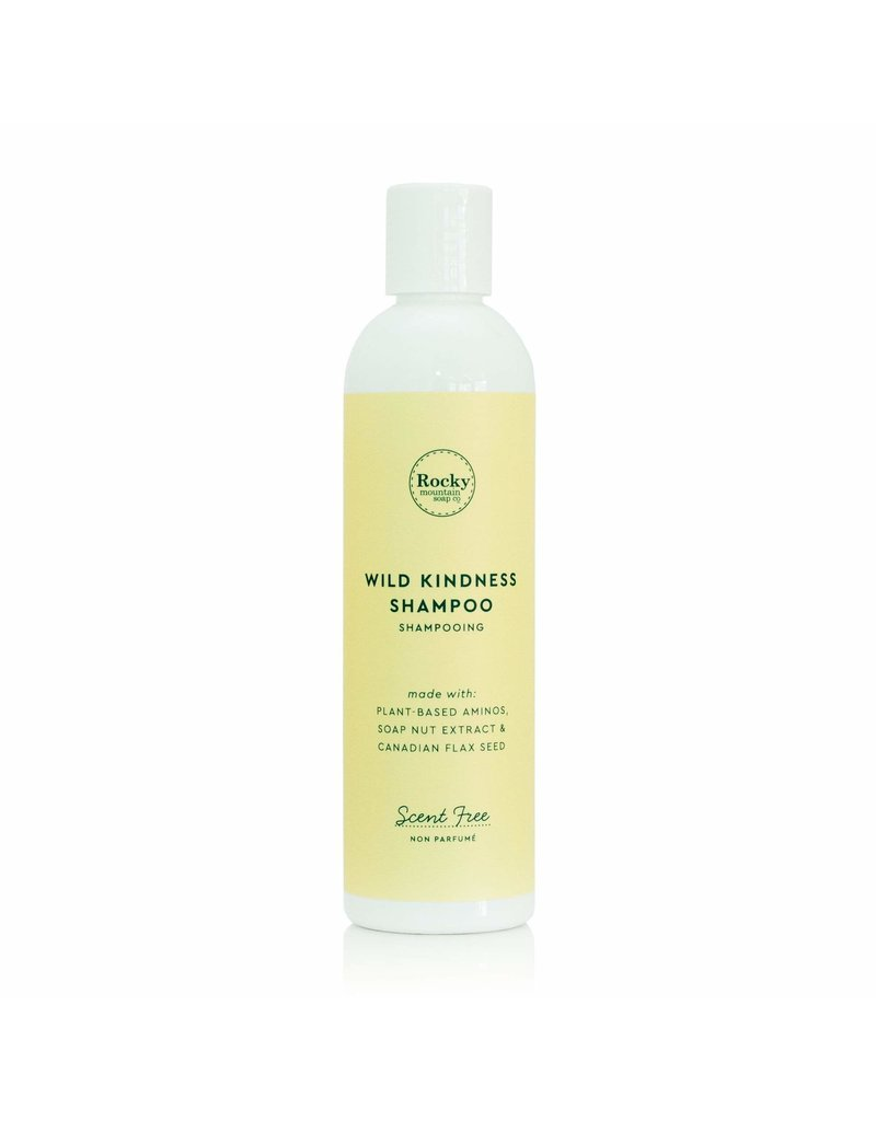 Rocky Mountain Soap Co. Wild Kindness Scent Free Natural Shampoo