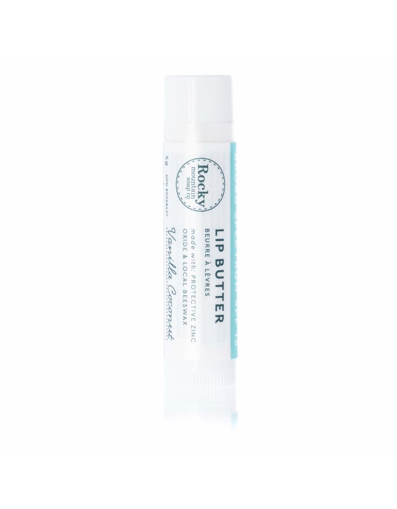 Rocky Mountain Soap Co. SPF 15 Vanilla Coconut Natural Lip Butter