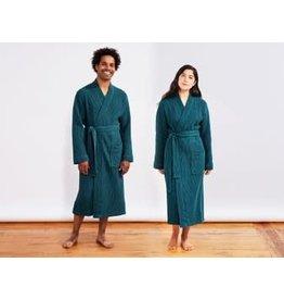 Unisex Organic Waffle Robe
