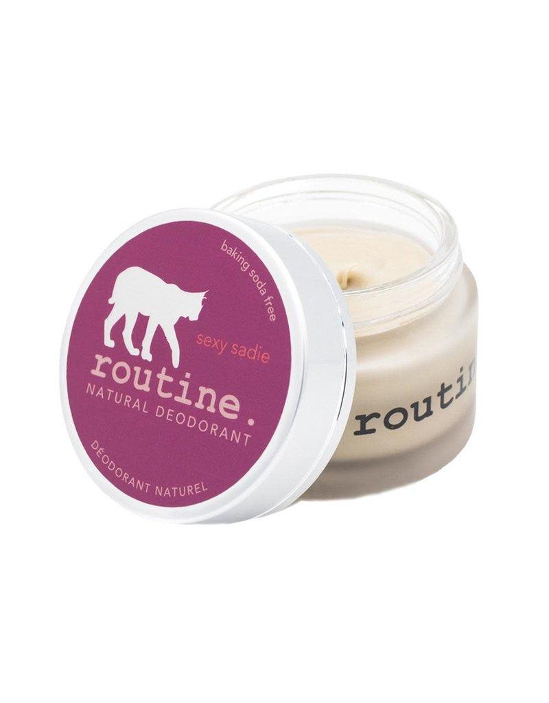 Routine Sexy Sadie Baking Soda Free Vegan Deodorant Cream