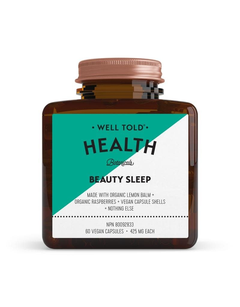 WELL TOLD HEALTH BOTANICALS Beauty Sleep