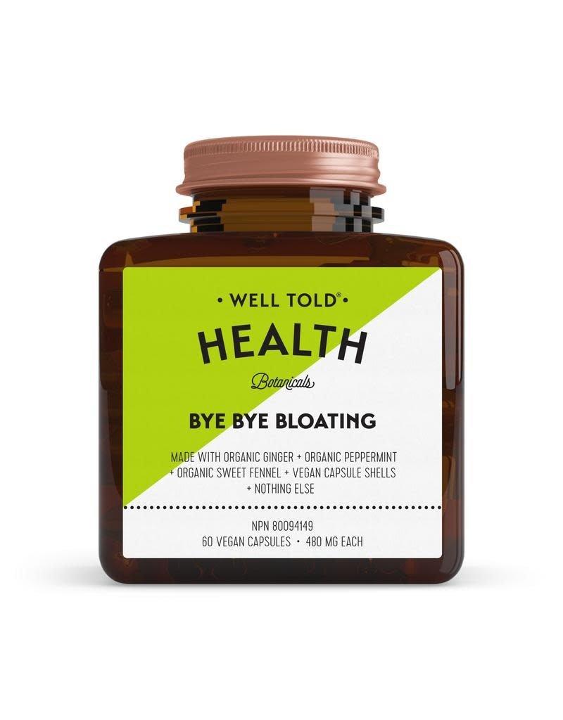 Well Told Health Botanicals Bye Bye Bloating
