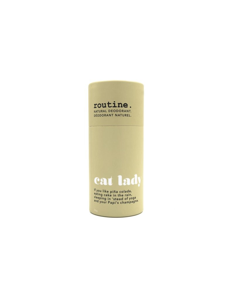 Routine Cat Lady Vegan Deodorant Stick
