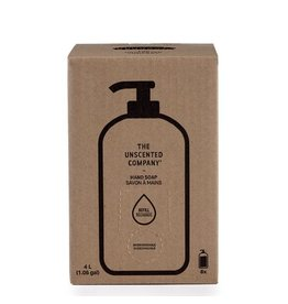 The Unscented Company Hand Soap 4L Refill Box