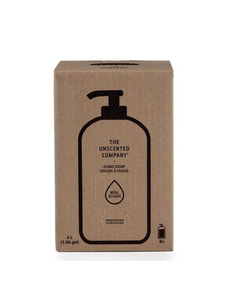 THE UNSCENTED COMPANY Hand Soap 4L Refill Box
