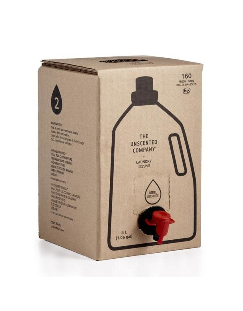 THE UNSCENTED COMPANY Laundry 4L Refill Box