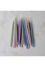 Honey Candles Pastel Birthday Beeswax Candles