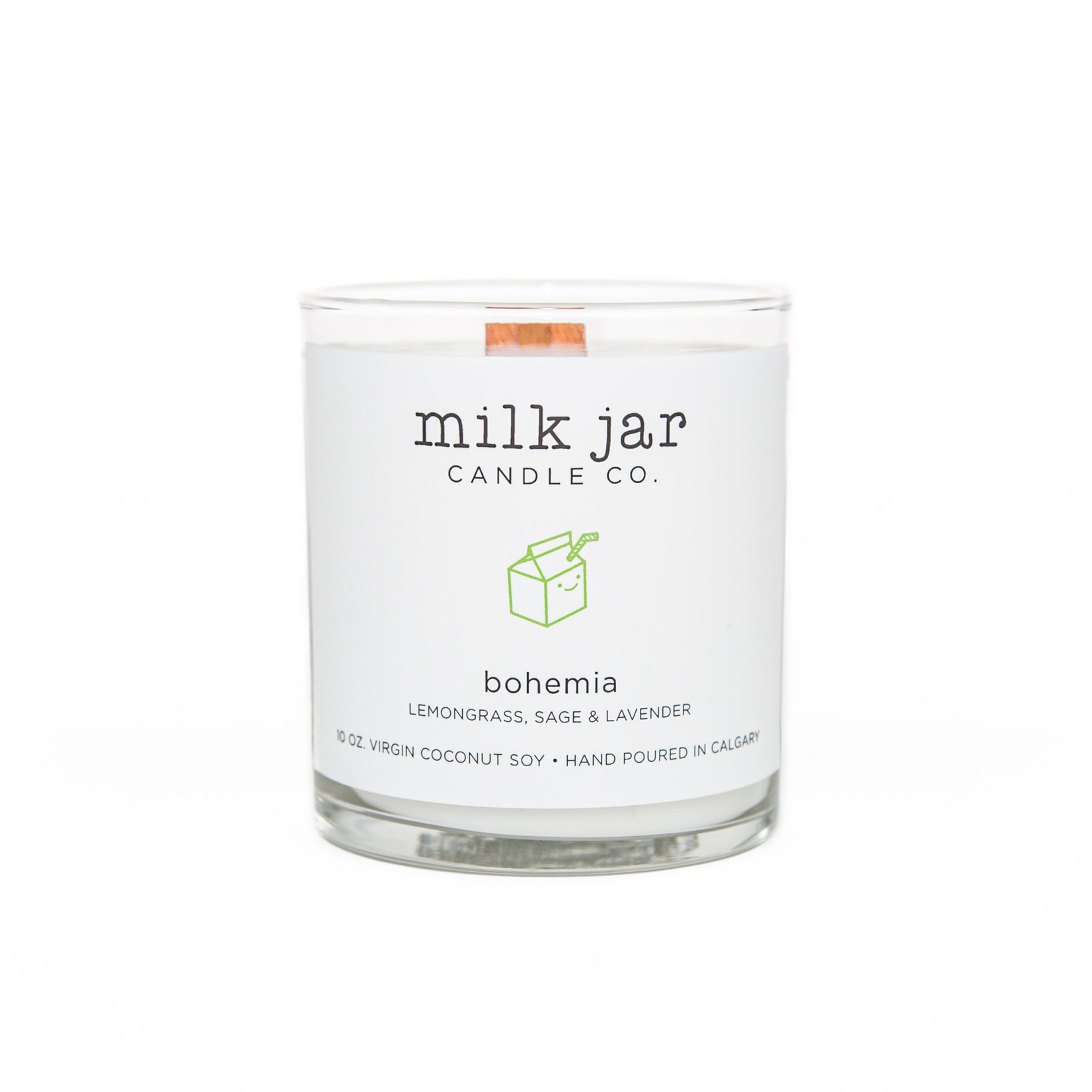 MILK JAR CANDLE CO. BOHEMIA CANDLE