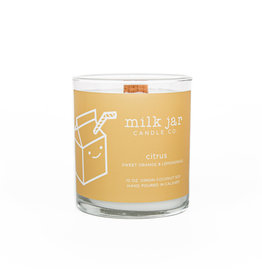 Milk Jar Candle Co. Citrus Essential Oil Candle