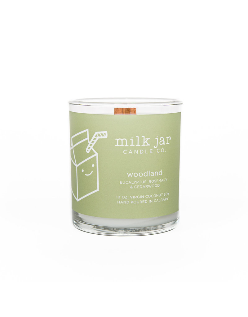 Milk Jar Candle Co. Woodland Essential Oil Candle