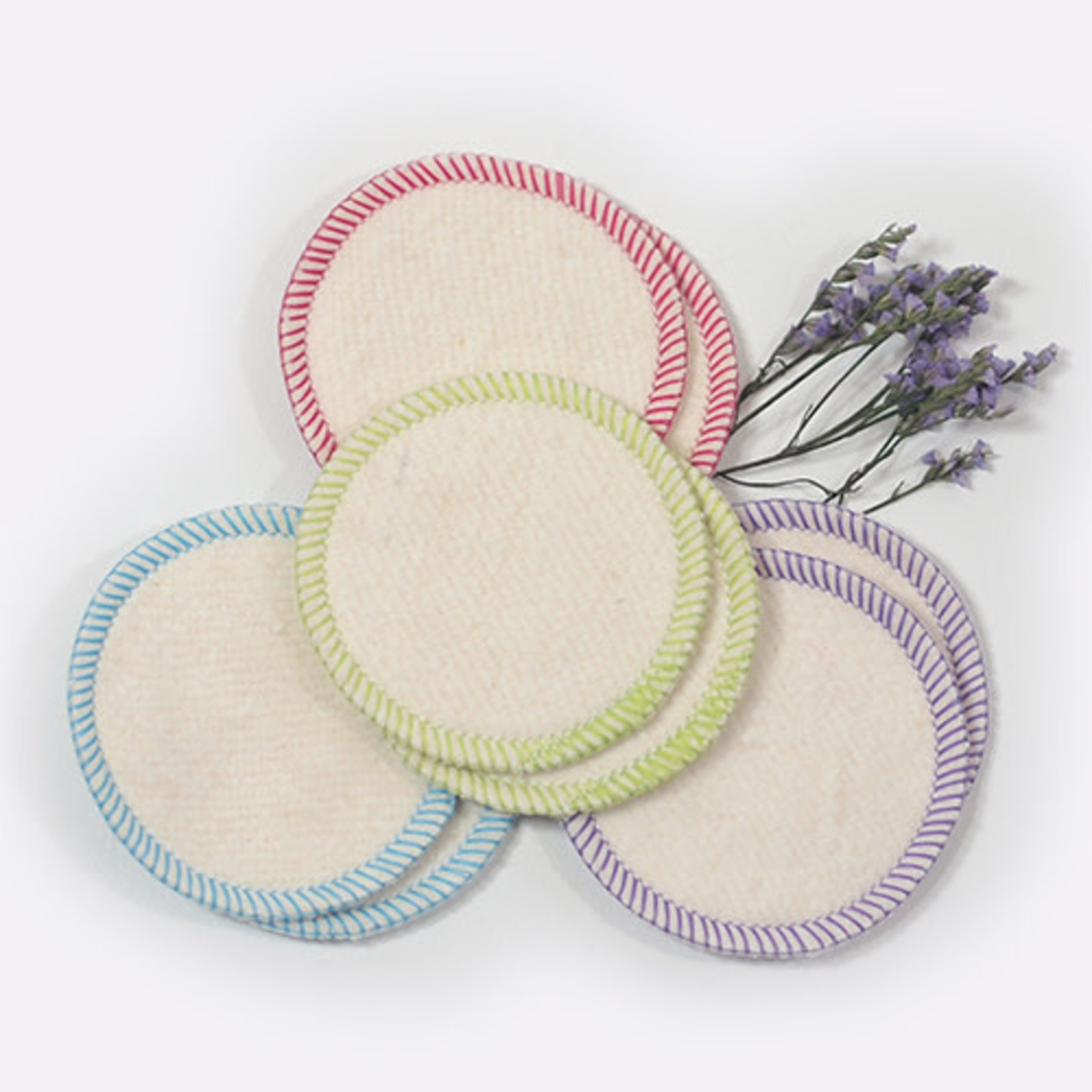 OKO CREATIONS ORGANIC MAKEUP REMOVAL PADS (8 PACK)