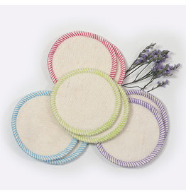 OKO CREATIONS ORGANIC MAKEUP REMOVAL PADS 8 PACK
