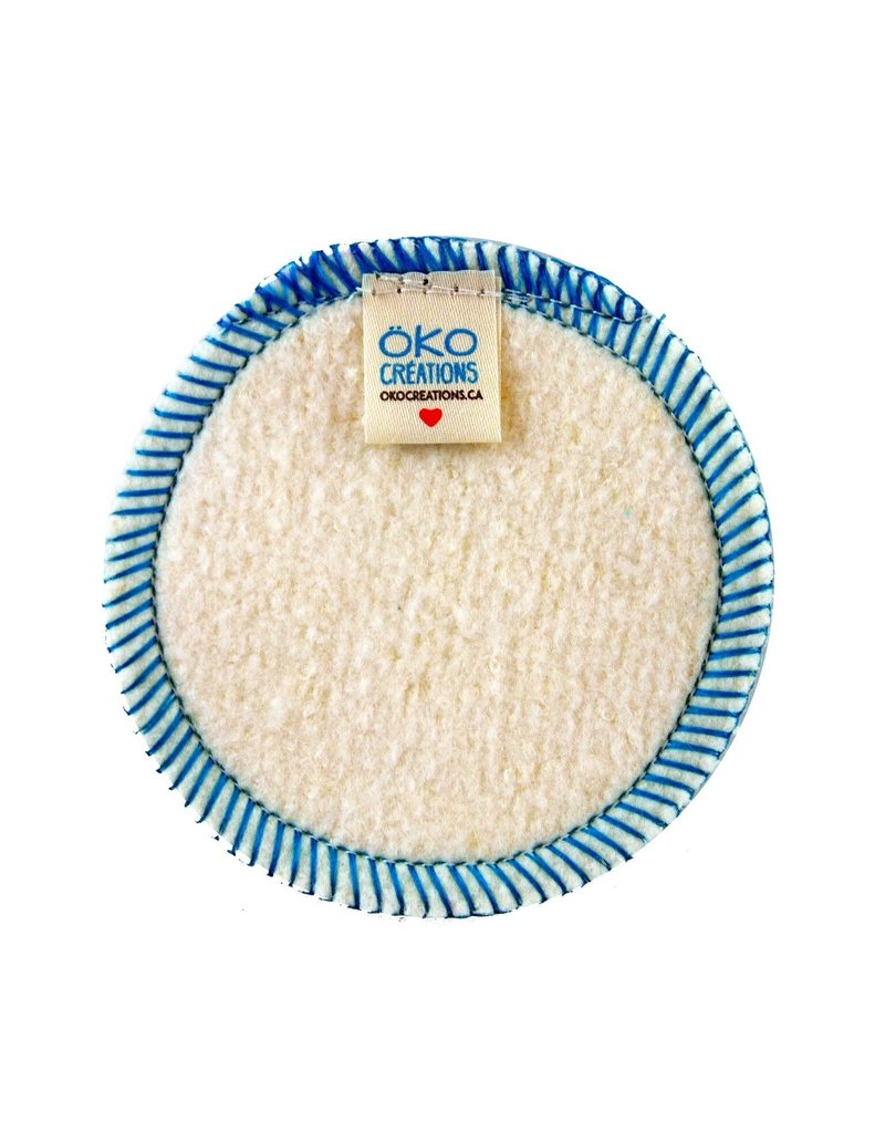 Oko Creations Organic Makeup Removal Pads Single