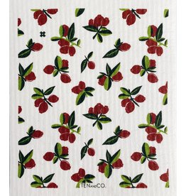 Ten and Co. Sponge Cloth Cranberry
