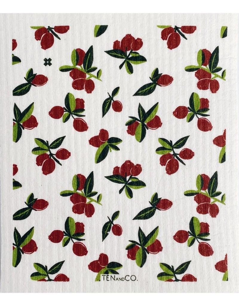 TEN AND CO. Sponge Cloth Cranberry