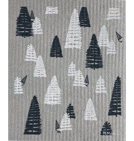 Ten and Co. Sponge Cloth Woods Grey