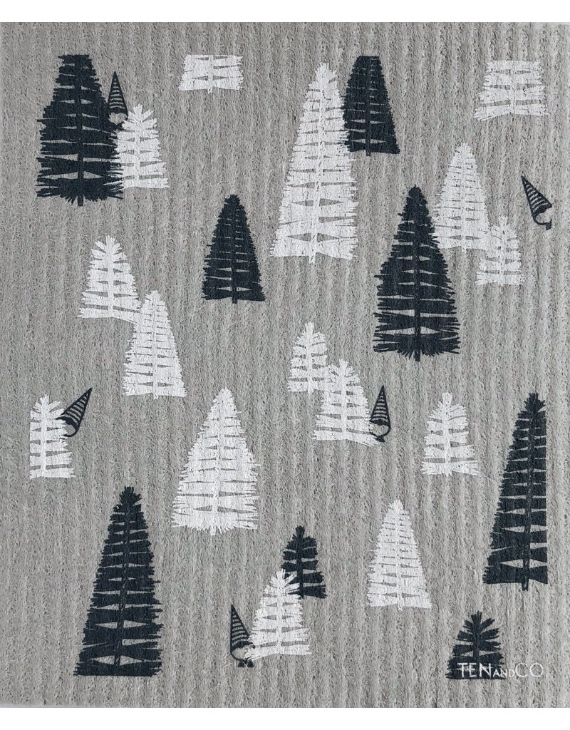 Ten and Co. Sponge Cloth Woods Grey