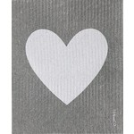 TEN AND CO. SPONGE CLOTH - BIG LOVE GREY