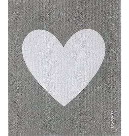 TEN AND CO. Sponge Cloth Big Love Grey