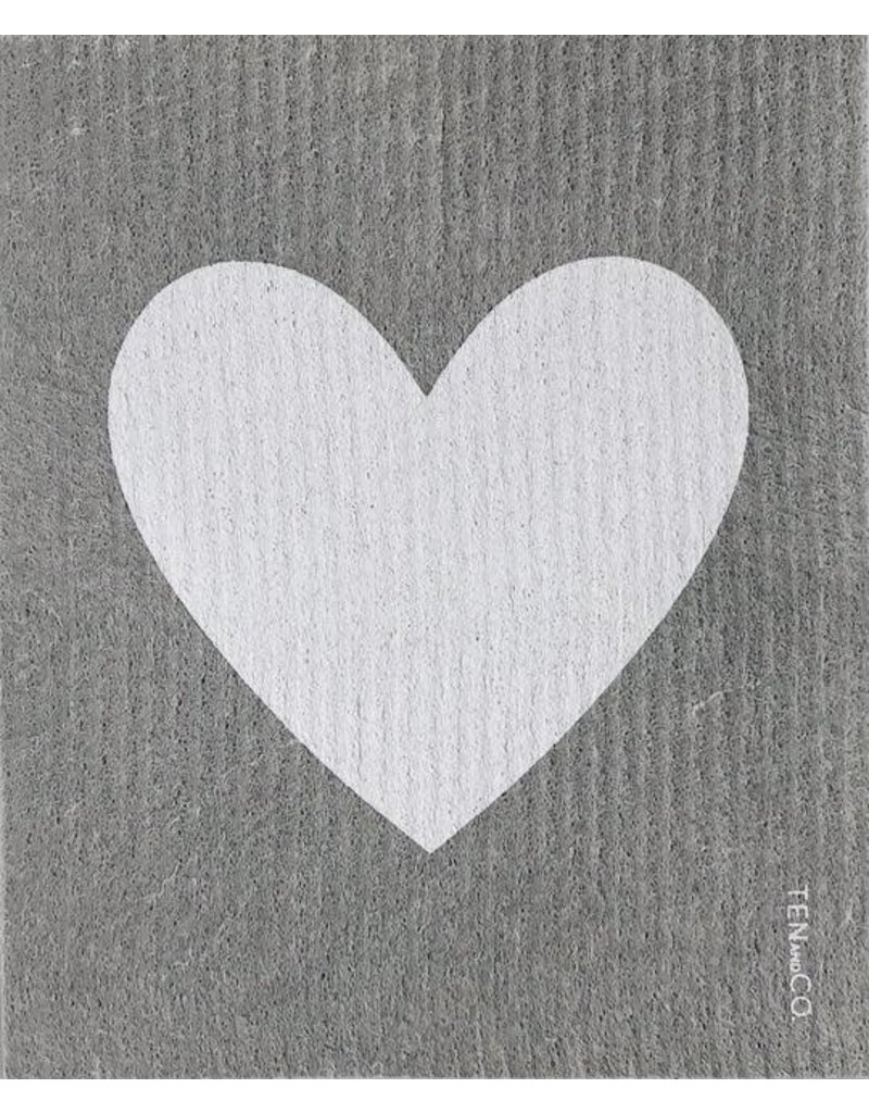 Ten and Co. Sponge Cloth Big Love Grey
