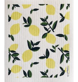 Ten and Co. Sponge Cloth Citrus Lemon