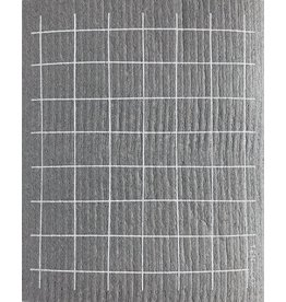 TEN AND CO. Sponge Cloth Grid Grey