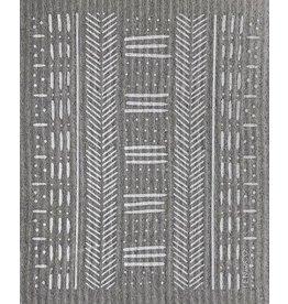 Ten and Co. Sponge Cloth Mudcloth Grey