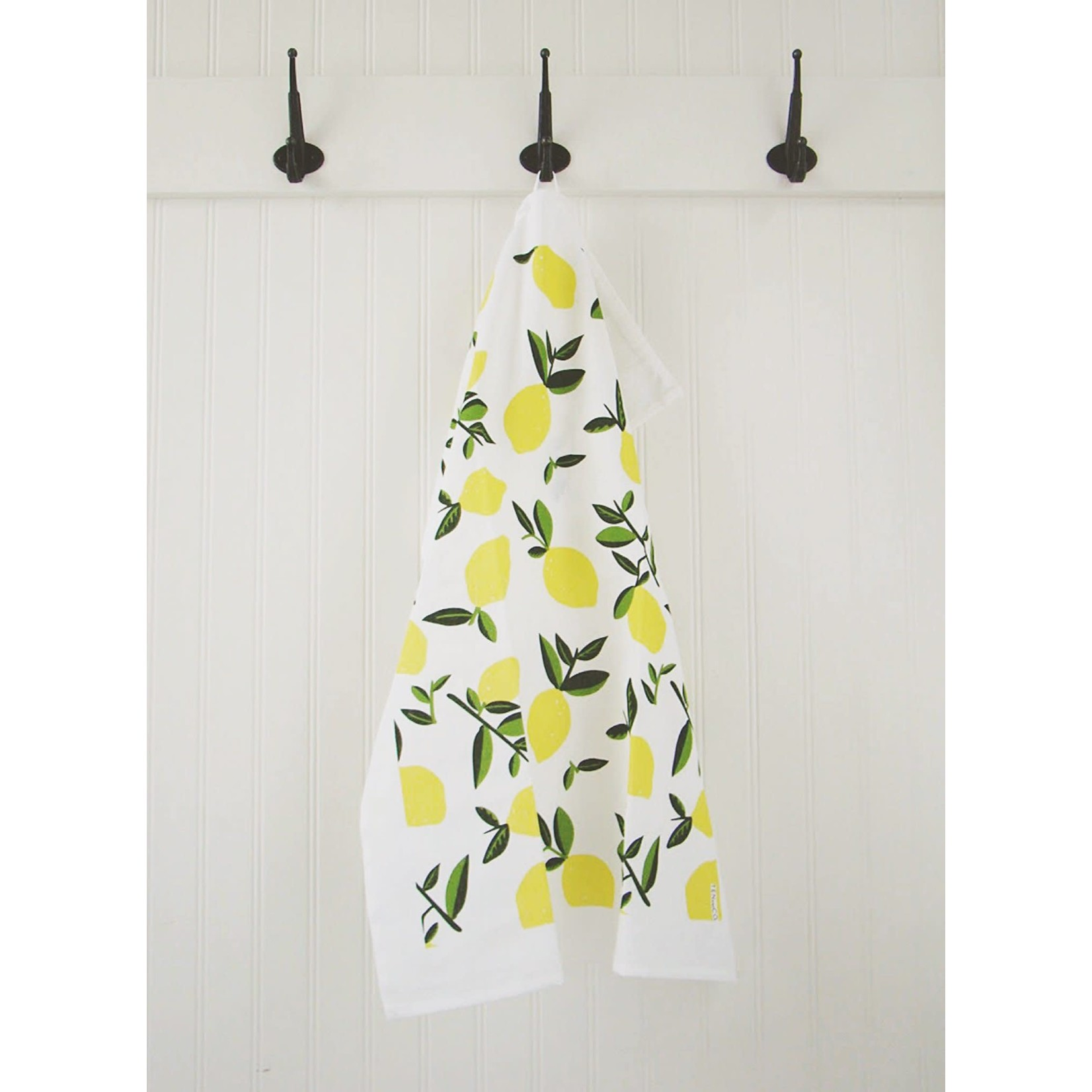 TEN AND CO. TEA TOWEL - CITRUS LEMON