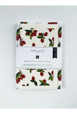 Ten and Co. Gift Set Cranberry