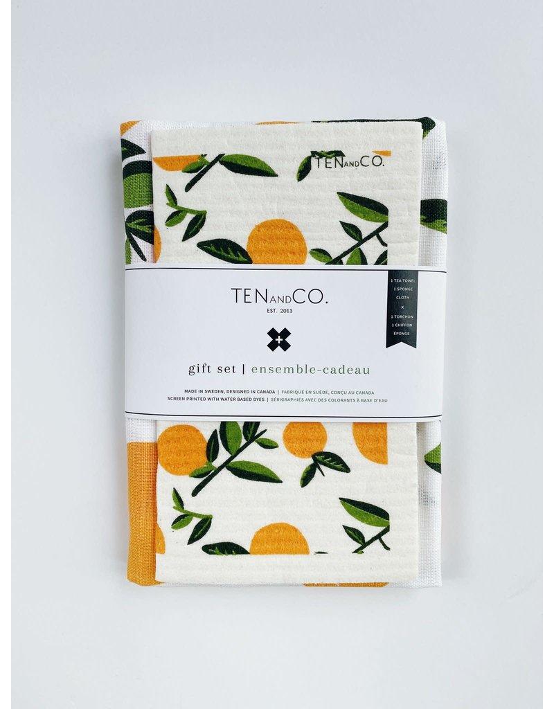 Ten and Co. Gift Set Citrus Orange