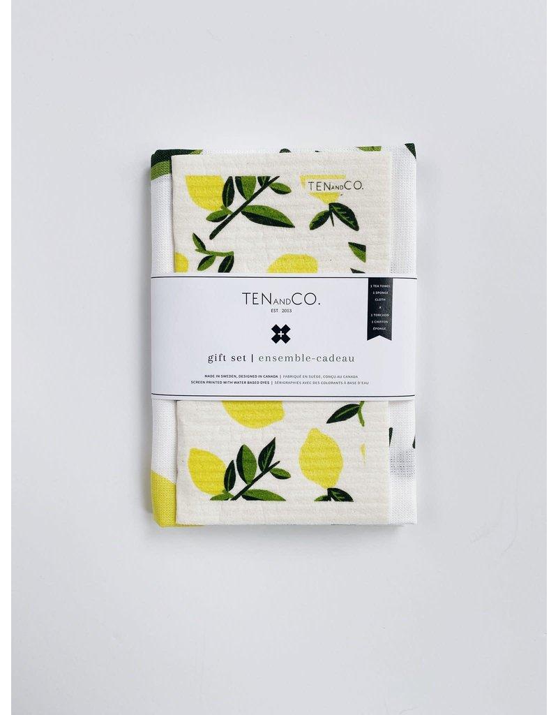 Ten and Co. Gift Set Citrus Lemon