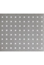 Ten and Co. Large Sponge Cloth Mat Tiny X Grey