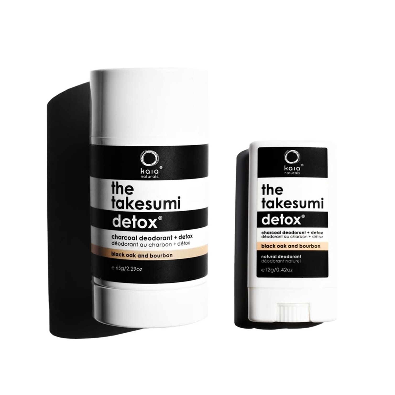 KAIA NATURALS THE TAKESUMI DETOX BLACK OAK + BOURBON CHARCOAL DEODORANT